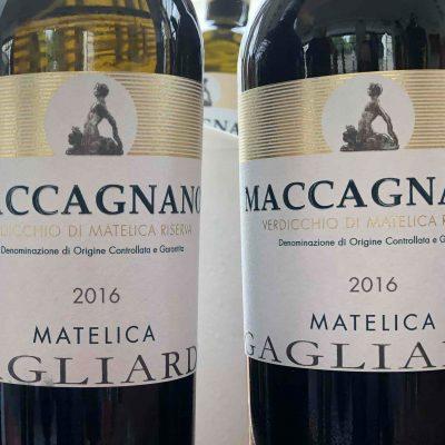 """Verdicchio di Matelica Riserva DOCG """"MACCAGNANO"""" – 2016 – GAGLIARDI"""