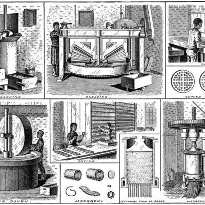 Il primo impianto elettrico del Pastificio Fabbri (1911)