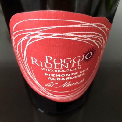"""Piemonte DOC Albarossa """"del Marusè"""" bio – 2015 – Poggio Ridente"""