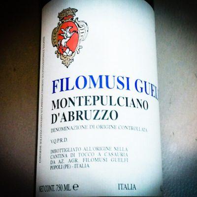 Montepulciano d'Abruzzo DOC – 2017 – Filomusi Guelfi
